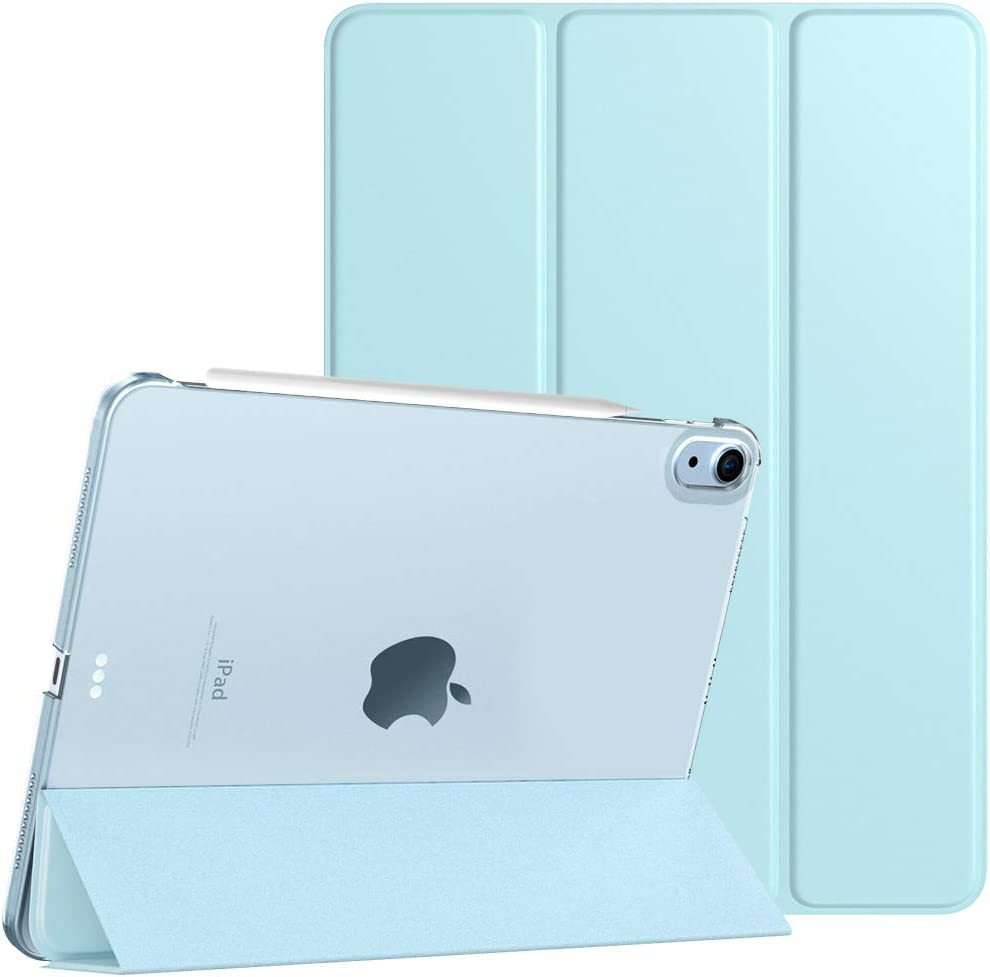 iPad Air 4 Case TiMOVO Case for New iPad Air 4th Generation 10.9-inch, 2020 Sky Blue Slim Stand Protective Cover Shell with Auto Wake//Sleep Support 2nd Gen Apple Pencil Charging ,