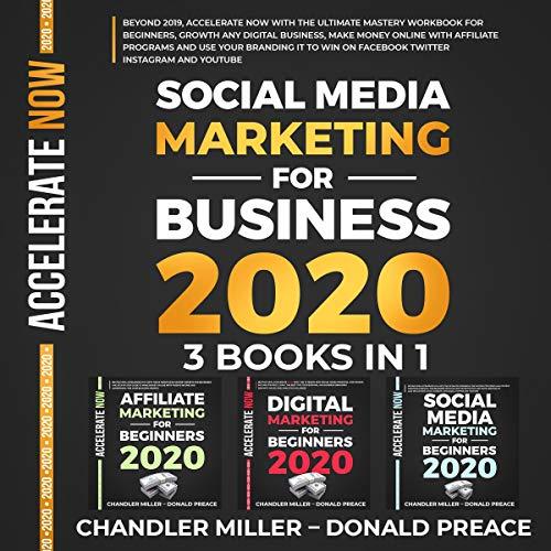 Social Media Marketing for Business 2020 cover art
