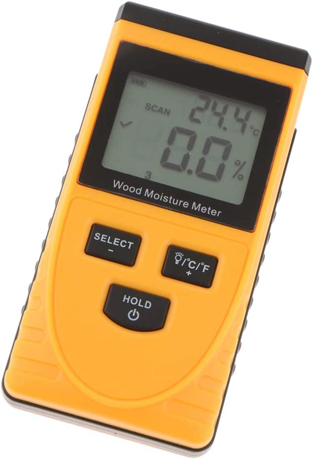 gazechimp Portable Wood Moisture Inductive Max 62% OFF NEW before selling ☆ Tools Pinless Meter