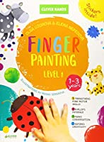 Finger Painting. Level 1: Stickers Inside! Strengthens Fine Motor Skills, Develops Patience, Sparks Conversation, Inspires Creativity (Clever Hands)
