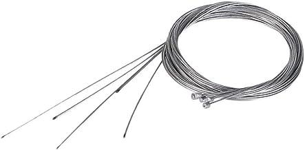 10 Embouts de c/âble en Alliage Noir Yuauy Lot de 2 c/âbles de d/érailleur en t/éflon en Acier Inoxydable 2100 mm pour VTT et v/élo de Route