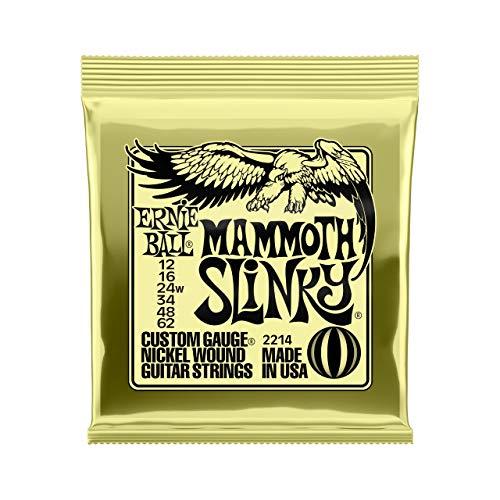Mammoth Slinky Cuerdas Guitarra Eléctrica Nickel Wound - 12-62 (wound G)