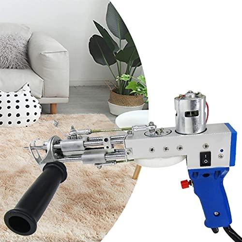 Alfombra Eléctrica Pistola De Acumulación La Alfombra Tejido Máquina Flocación For Pila Corte 7-21mm Inicio Bricolaje Instrumentos