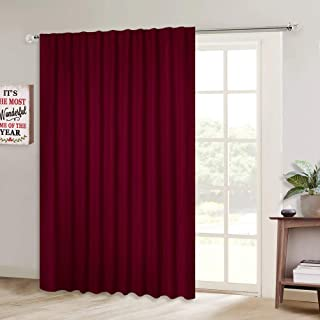 Best burgundy pinch pleated drapes Reviews