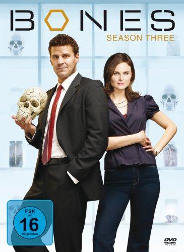 Bones - Season 3 (4 DVDs)