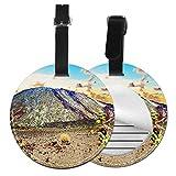 Etiquetas para Equipaje Bolso ID Tag Viaje Bolso De La Maleta Identifier Las Etiquetas Maletas Viaje Luggage ID Tag para Maletas Equipaje Volcán Teide