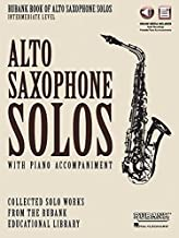 Rubank Book of Alto Saxophone Solos - Intermediate Level: Book with Online Audio (stream or download)