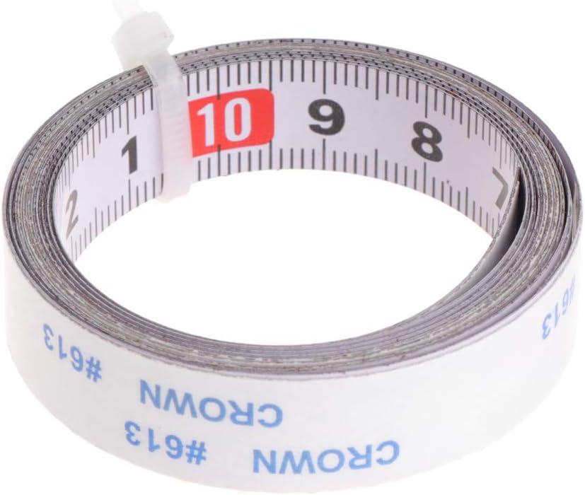 Jilin Miter Saw Tape Measure Fixed price for sale New York Mall Self Ruler Metric Mi Steel Adhesive
