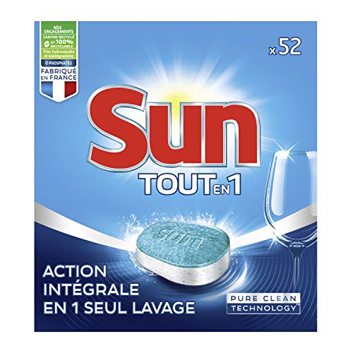 Sun vaatwasserabs All in 1 standaard, 52 wasbeurten.