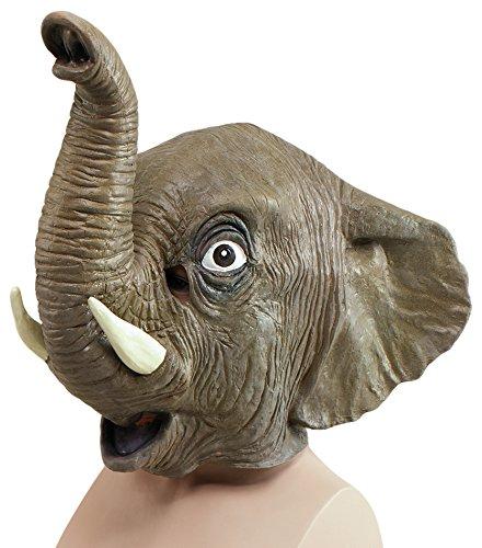 Bristol Novelty BM162 olifant masker, meerkleurig, eenheidsmaat