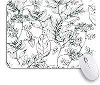 マウスパッド カップケーキビンテージベーカリーカードコンセプトチェリーのに ゲーミング オフィス おしゃれ がい りめゴム ゲーミングなど ノートブックコンピュータマウスマット 24cm x 20cm