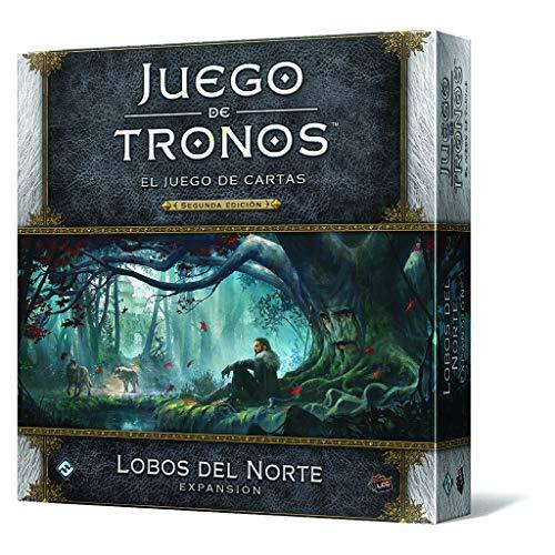 Fantasy Flight Games Juego de Tronos lcg: Lobos del Norte-español, Multicolor (EDGGT08)