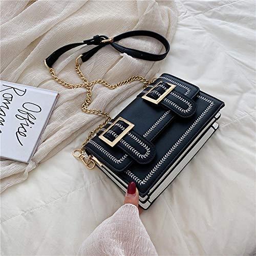 Verano de alto grado pequeño cuadrado bolso de cadena popular bolso de mensajero de hombro salvaje femenino