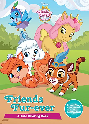 Disney Whisker Haven: Friends Fur-Ever (Color It!) (Whisker Haven: Tales with The Palace Pets)
