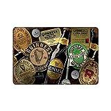XREE Cartel de lata con diseño de Guinness PATRICKS Fin de semana con texto en inglés 'Letras de fin de semana' con 8 letreros de metal retro con pintura de hierro oxidado