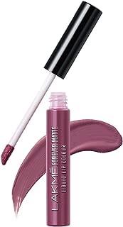 Lakme Forever Matte Liquid Lip Colour, Mauve Fling, 5.6 ml