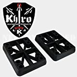 Khiro Hard Riser Set 1/2 Inch Taper Wall Black