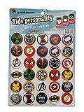 30x grand Marvel Thor, Iron Man, Captain America, SpiderMan 4cm diamètre badges Cadeau, présent, sac de fête à jouets par Fat-catz-copy-catz