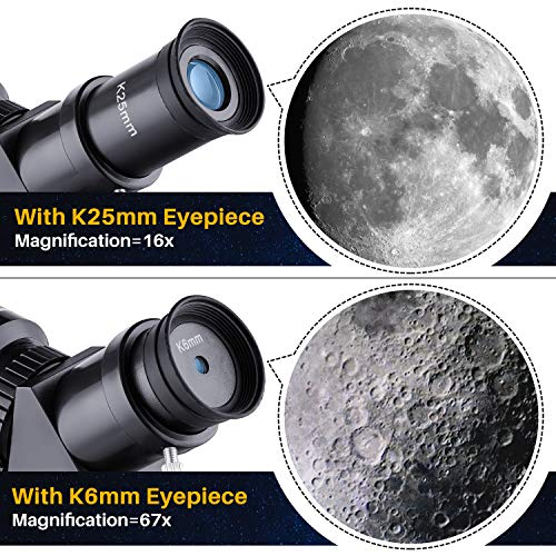 Upgraded Telescope HD 400/70mm Telescope for Kids Adults Refractor Astronomy Telescope - Watching the Moon, Bird Watching, Viewing the Natural Scenery, Viewing the City Scenery, Watching the Wild Animals, Concert