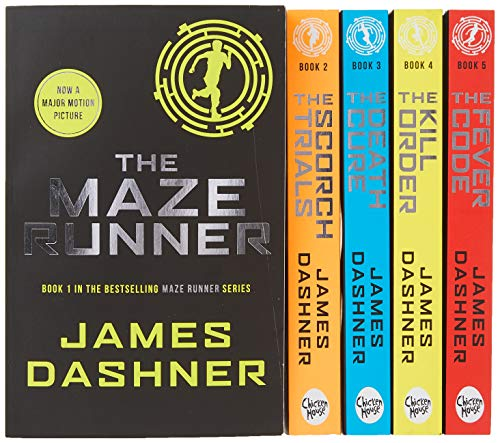 Maze Runner Series James Dashner 5 Books Collection Set Pack