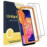 UniqueMe [2 Pack] Protector de Pantalla Compatible con Samsung Galaxy A10, Vidrio Templado [9H Dureza] HD Film Cristal Templado