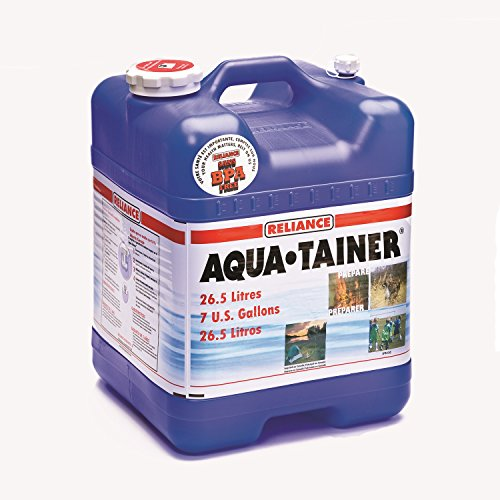 Reliance Products Aqua-Tainer 7 Gallon Rigid Water Container (2 Pack)