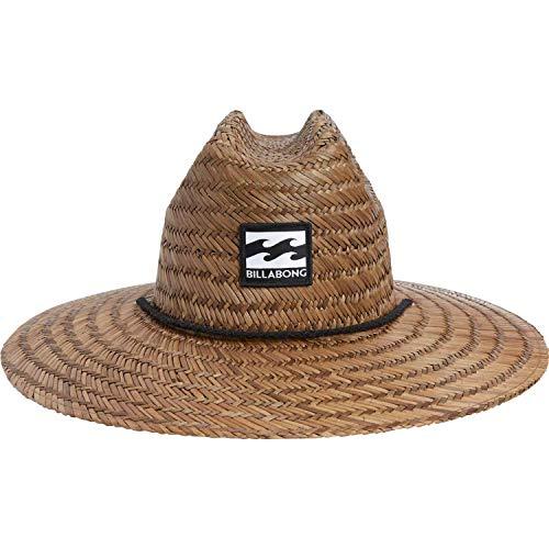 Billabong Men's Classic Straw Lifeguard Hat, Brown, One Size