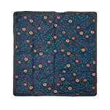 Little Unicorn – Midnight Poppy Indoor/Outdoor Blanket | 100% Polyester | Water Resistant Simple Clean | Wipeable Material | Easy to Carry | Babies and Toddlers | Machine Washable | 5' x 5'