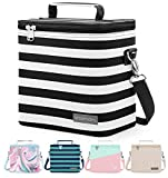 Simple Modern 4L Blakely Lunch Bag for Women & Men - Insulated Kids Lunch Box Stripes: Tuxedo