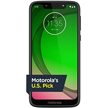 Moto G7 Play 32GB Android Smartphone GSM Unlocked for AT&T / T-Mobile and all GSM carriers - Deep Indigo (Blue) (Renewed)