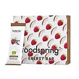 foodspring Barrita Energética pack de 12, Coco-Frambuesa, 12x35g