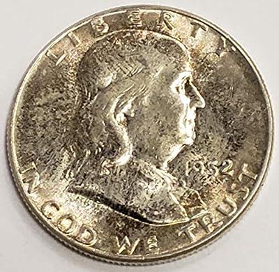 1958 Franklin Half Dollar BU