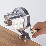 Macchine Per Pasta Manuali - Preparazione di Spaghetti - Lega di Alluminio - Pressa Per Pasta - Manovella Manuale - Attrezzatura Per La Preparazione di Alimenti da Cucina
