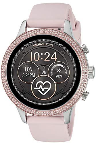 michael kors smartwatch Michael Kors Orologio Digitale Donna con Cinturino in Silicone MKT5055