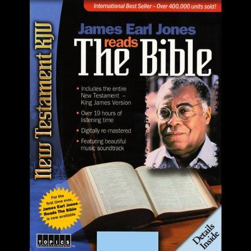 James Earl Jones Reads The Bible audiobook cover art