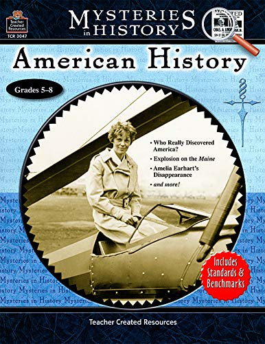 Teacher Created Resources Mysteries in History Series - American History Workbook