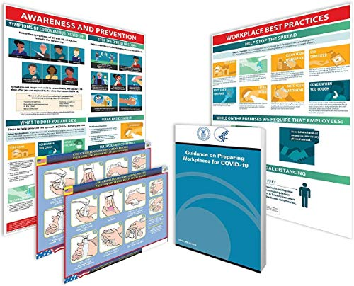 Coronavirus Workplace Bundle - Covid-19 Poster Set for The Workplace