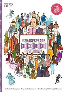 The Shakespeare Timeline Posterbook: Unfold the Complete Plays of Shakespeare - One Theater, Thirty-Eight Dramas!