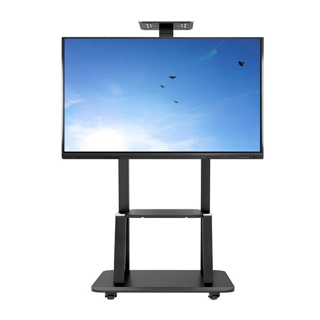 Soporte TV Trole Soporte para TV móvil enrollable de servicio pesado Soporte de TV móvil para pantalla plana de 55/65/70/75 pulgadas, LED, LCD, OLED, plasma, televisores curvos, montaje universal con: Amazon.es: Hogar