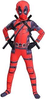 Disfraz para niños Cosplay Deadpool Disfraces de cosplay Niños Deadpool Disfraz de carnaval de Halloween para niños Traje de fiesta para niños