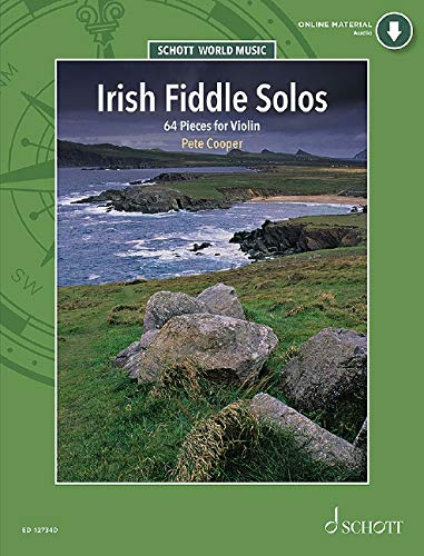 Irish Fiddle Solos - 64 Pieces for Violin - Schott World Music Series - ( ED 12734D )