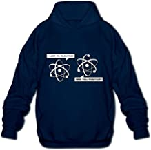 I Lost an Electron are You Positive Mens Printed Hooded Sweatshirt Sweater