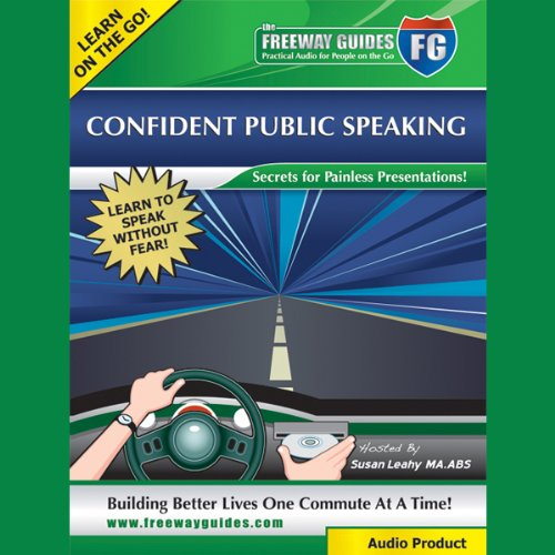 Confident Public Speaking Audiobook By Susan Leahy cover art