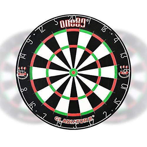 ONE80 Gladiator 3 Plus Sisal Dartscheibe BDO Turnier Dartboard