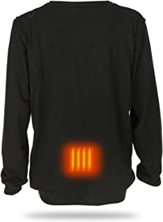 Men's Thermal Underwear Electric Heating Jacket USB Can Be Heated, Suitable for Cold Winter, Cycling, Hiking