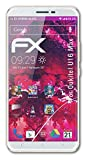 atFolix Glasfolie kompatibel mit Oukitel U16 Max Panzerfolie, 9H Hybrid-Glass FX Schutzpanzer Folie