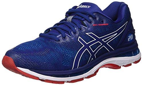 Asics Gel-Nimbus 20, Zapatillas de Running para Hombre, Azul (Blue Print/Race Blue 400), 40 EU