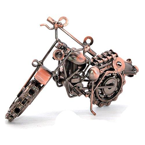 Kreative Handgelötetes Motorrad-Modell aus Schmiedeeisen, Metall, Motorrad, für Sammler, Heim-, Schreibtisch-Dekor, metall, Modell 2