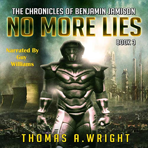 No More Lies audiobook cover art