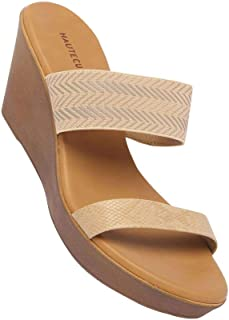 Haute Curry by Shoppers Stop Womens Casual Wear Slip On Wedges